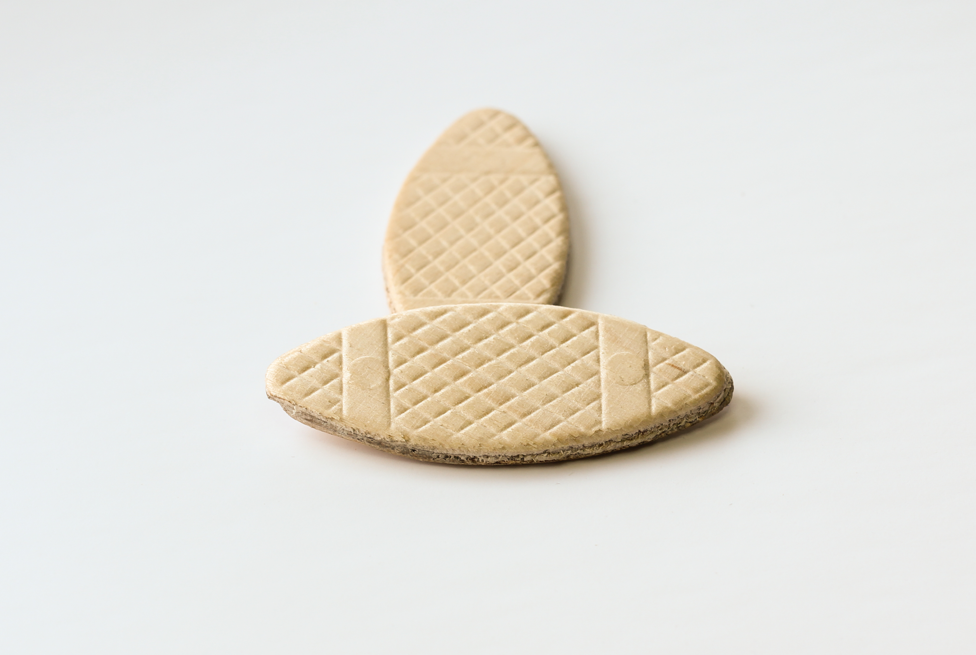 Joinery biscuit from FSC® certified birch wood